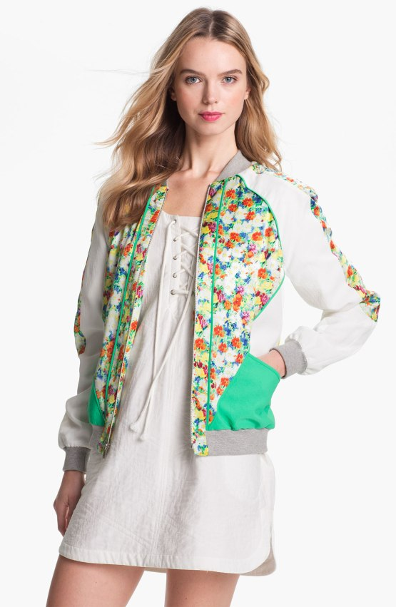 Rebecca Minkoff 'Nolan' Print Jacket