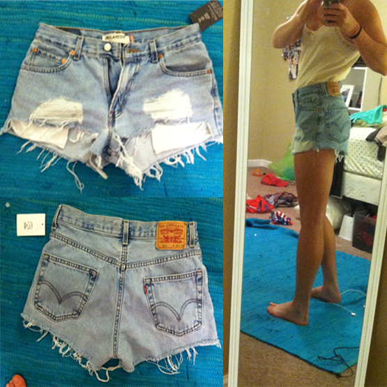 I Love it! Now what?: High Waisted Denim Shorts | Charm(ing) City ...