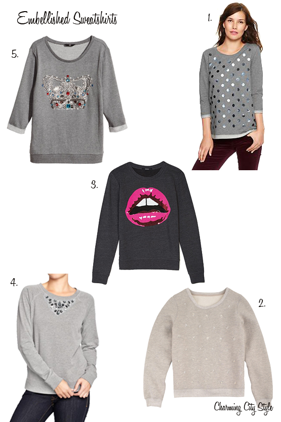 Embellished-Sweatshirts