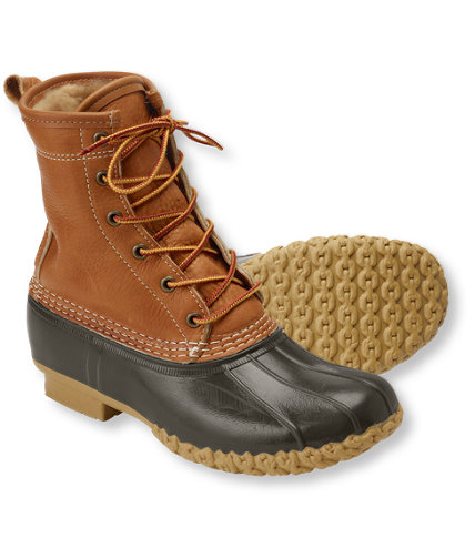 Creative Women39s Bean Boots By LLBean 8quot Winter Boots  Free Shipping At