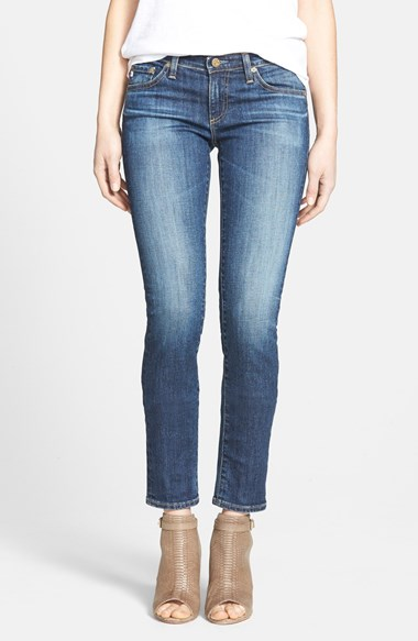 "AG ""The Stilt"" Cigarette Legging Stretch Jeans"