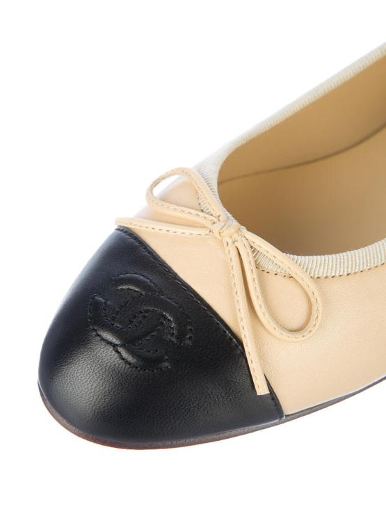 Chanel Cap Toe Flats