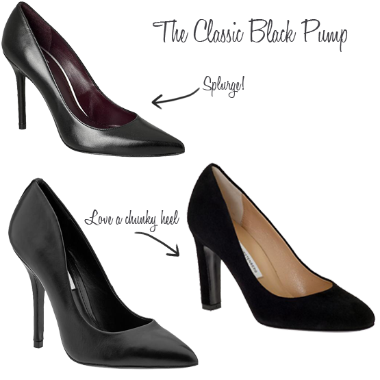 3 Pairs of Shoes Every Woman Needs for Work